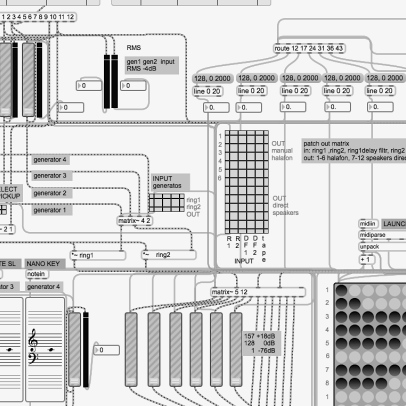 "Revitalization of ""Pianophonie"" (1978) with MAX/MSP and Max for Live"